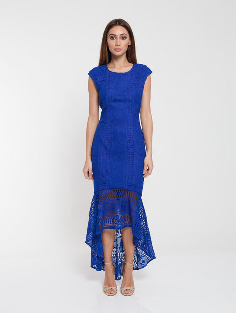 Romance Ellie Blue Lace Dress