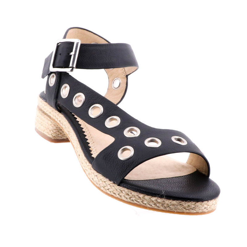 Florsheim - Bettie Sandal - Black - Pizazz Boutique - Summer Shoes