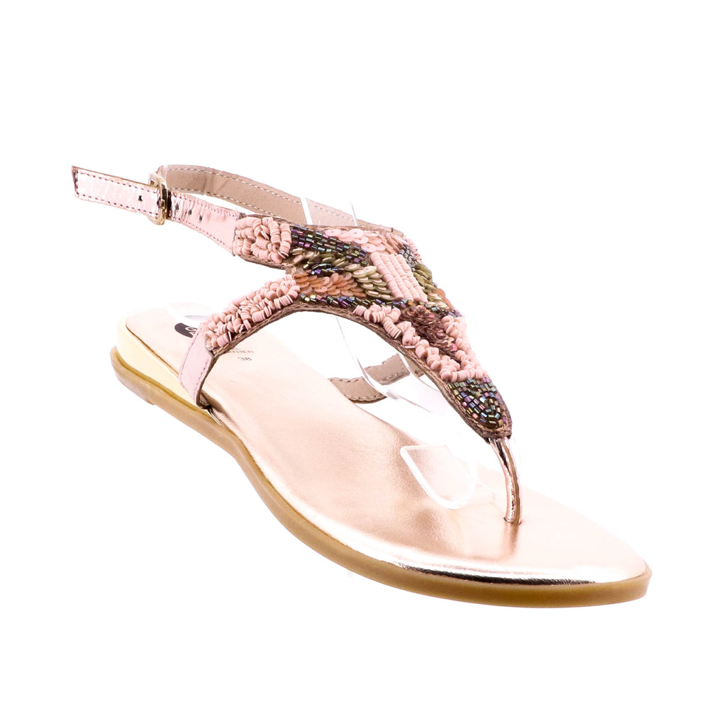 Gioseppo - Ludovic Sandal - Nude and Pink - Pizazz Boutique