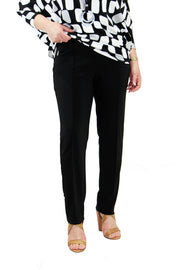 Black Straight Cut Pants - 171094