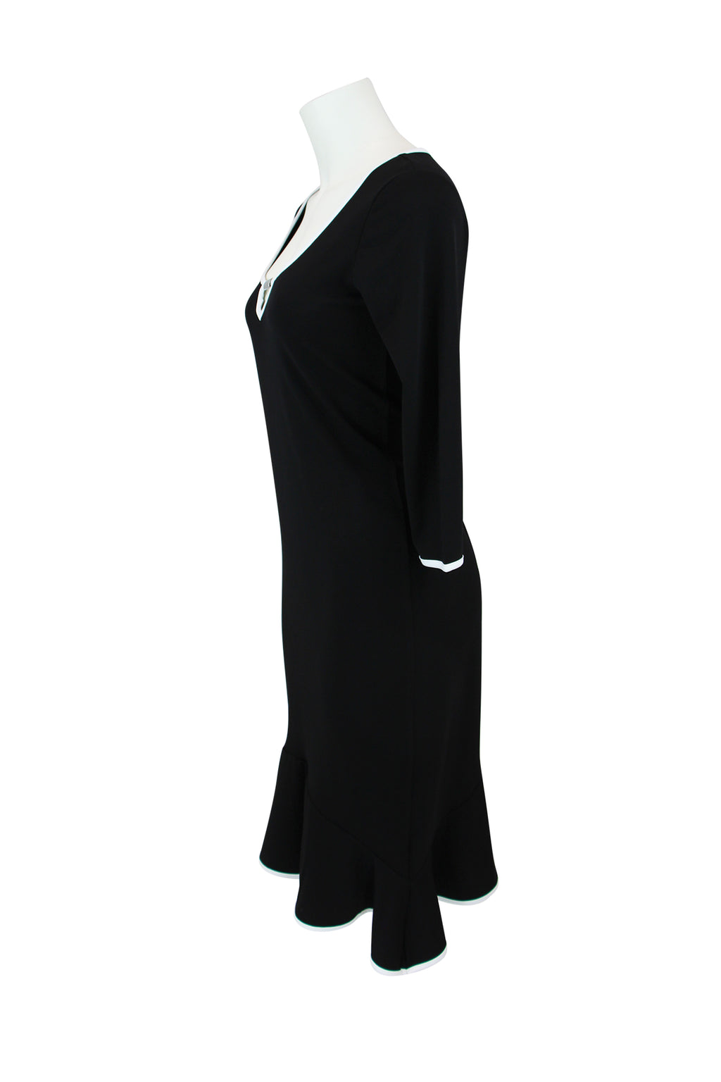 Sandra Soulos Black & White Dress