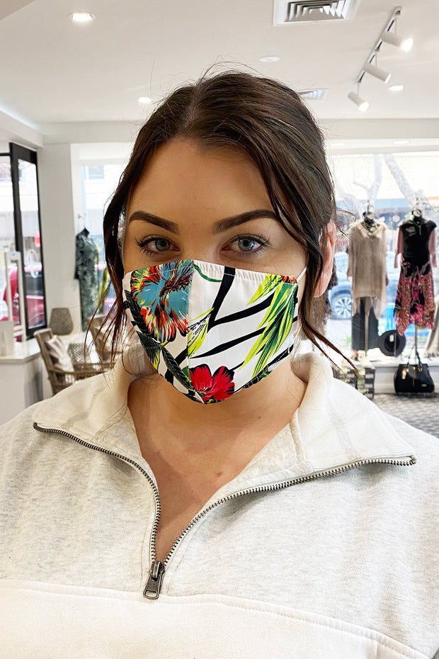 Reusable Face Mask - Hawaiian