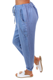 Messina Pants - Denim