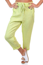Messina Pants - Lime