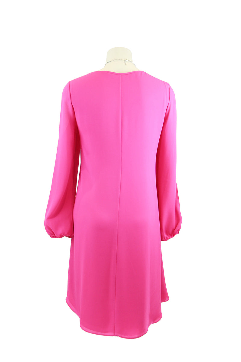 Joseph Ribkoff Pink Overlay dress 172280