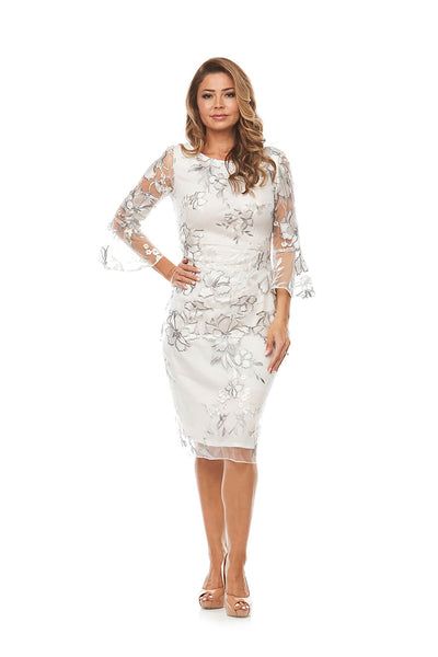 Jesse Harper - Lucy Bell Sleeve Dress - Ivory Lace - Pizazz Boutique