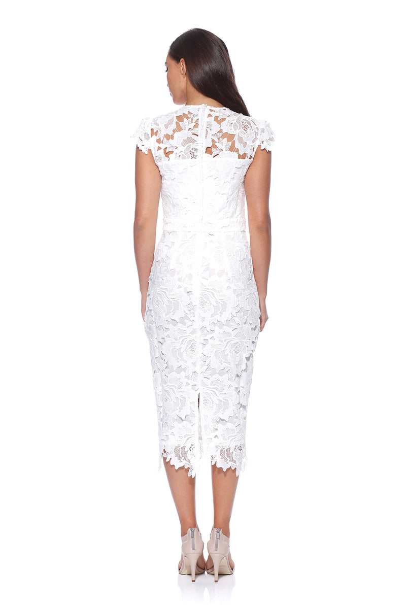 White Lace Dress by Romance RD174002 Jolie