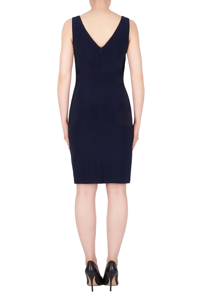 Joseph Ribkoff - Queen of the Nile Dress - Navy - Pizazz Boutique