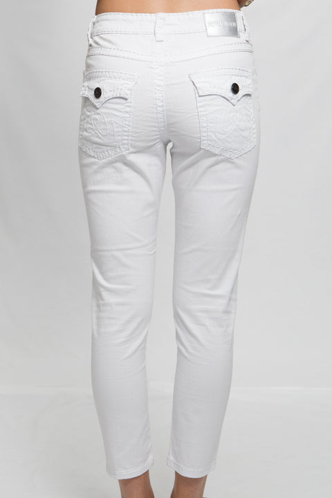 New London white jeans