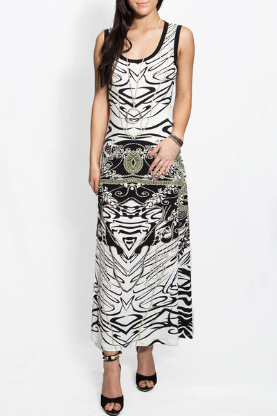 Jersey Girl Priviledge Maxi Dress JE271