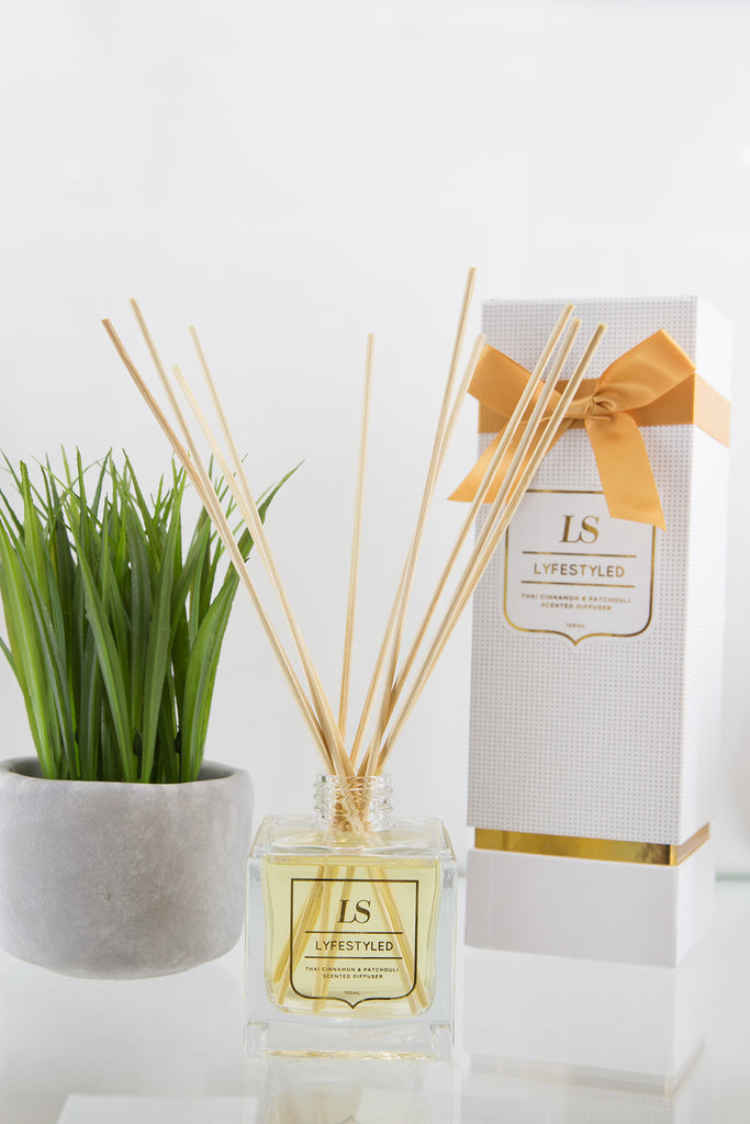 LS Lyfestyled - Tiger Orchid & Apricot Diffuser