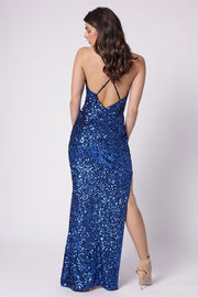 Notre Dame Maxi Dress - Electric Blue