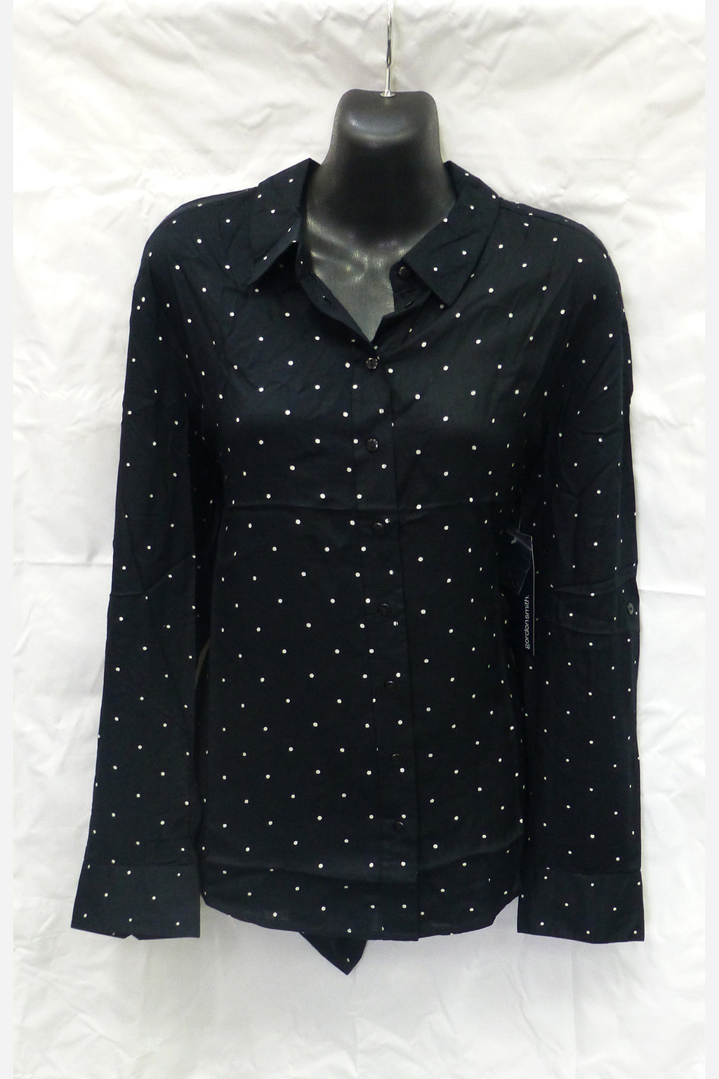 Black Spotted Shirt - Style No: 105059