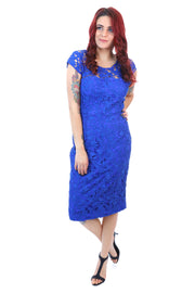 Fantasy Dress - Cobalt Blue