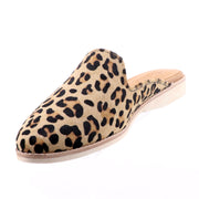 Rollie - Madison Mule Camel - Leopard Print Shoes - Pizazz Boutique