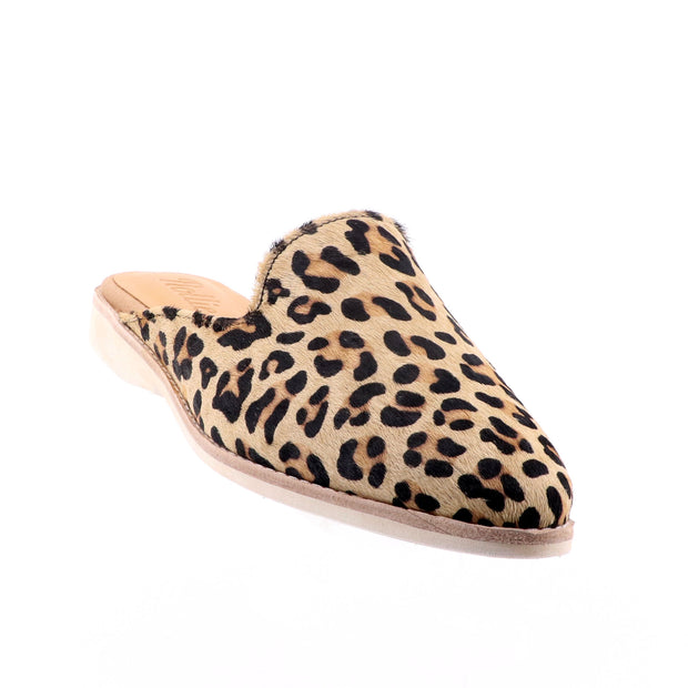 d29ac1cf0392 Rollie - Madison Mule Camel - Leopard Print Shoes - Pizazz Boutique