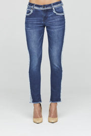New London - Shelton Taper Jean - Denim - Pizazz Boutique