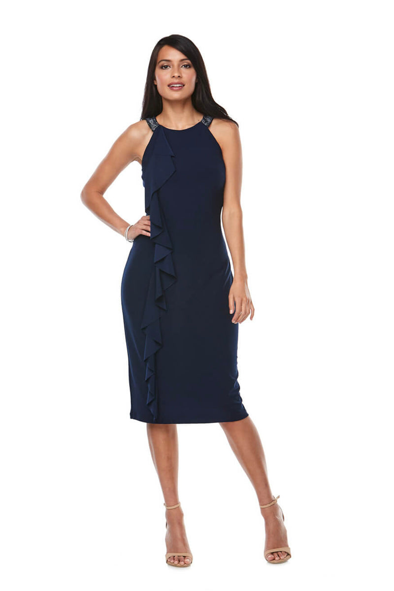 Angela Dress - Midnight Blue