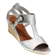 Nexus Silver Wedge Shoe