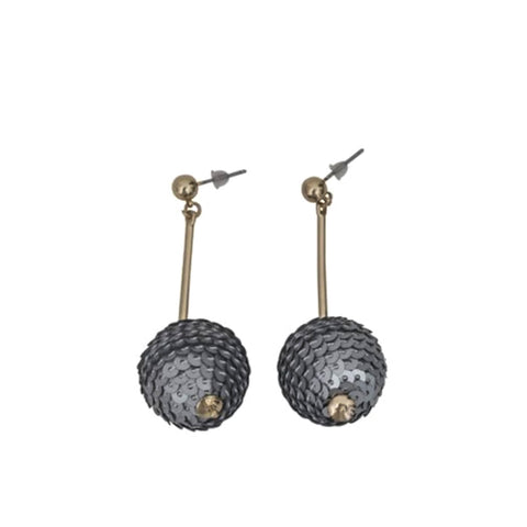 Disco Earrings - Silver