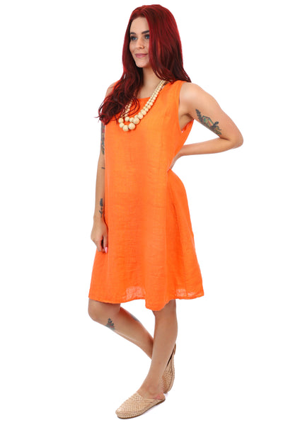Veronica Dress - Orange