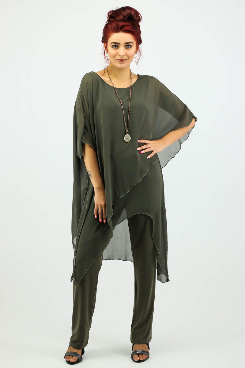 Tilly Jumpsuit - Khaki