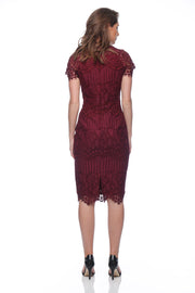 Pink Ruby - Sylvie Dress (Berry)