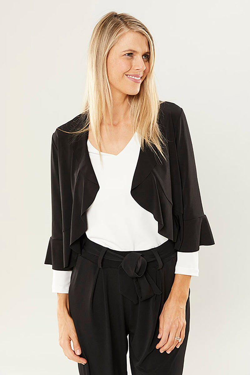 Philosophy Alba Frilled Bolero Jacket