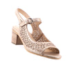 Top End - Baylors Heel - Old Gold - Pizazz Boutique - Leather Heels