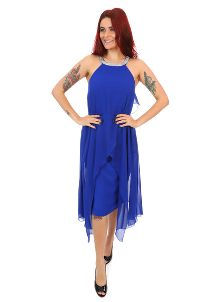 Higher Love Dress - Royal