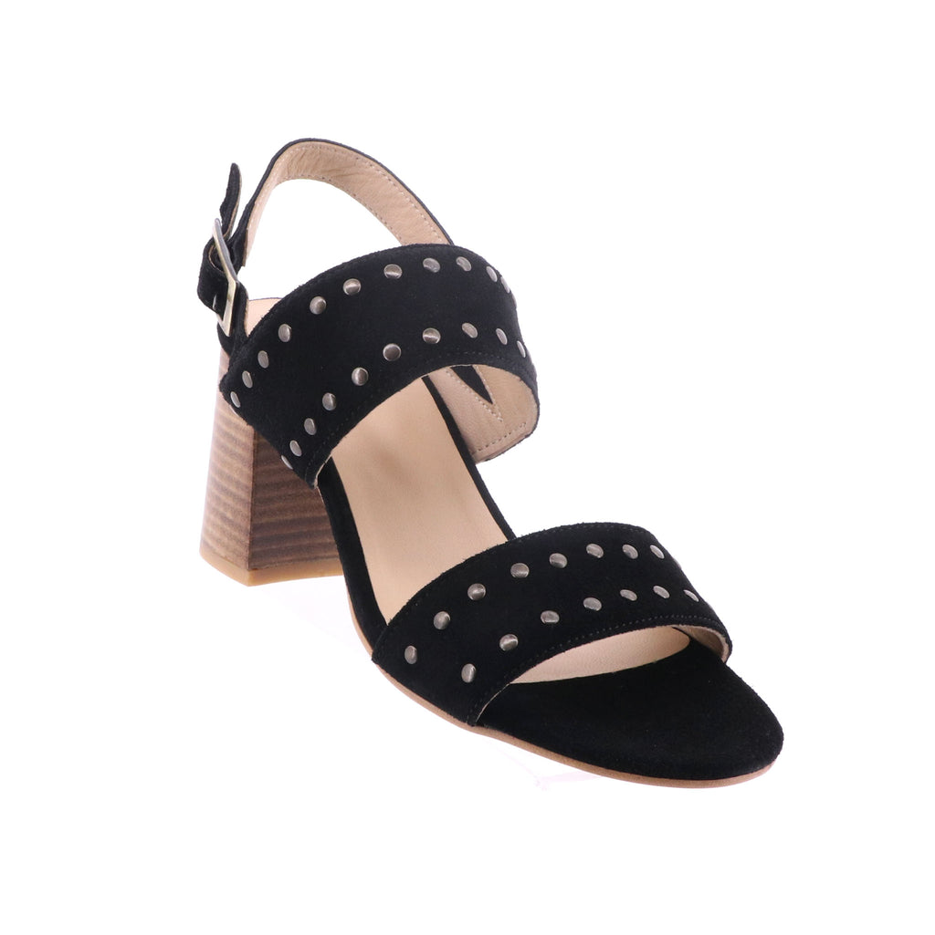 Florsheim - Miley Heel - Black Suede - Pizazz Boutique