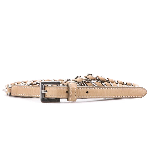 Chain Belt Beige