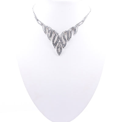 Crystal Bejewelled Necklace