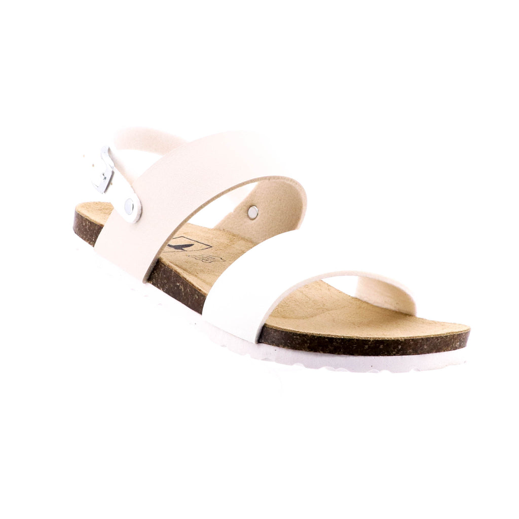 Byron Bay Shoe Co - Jasmin Sandal - Beige - Pizazz Boutique