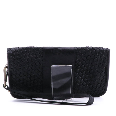 Cadelle - Havana Wallet - Black Leather - Pizazz Boutique