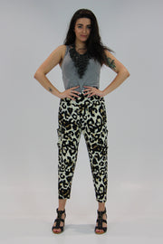 Cheetah Pocketed Pants