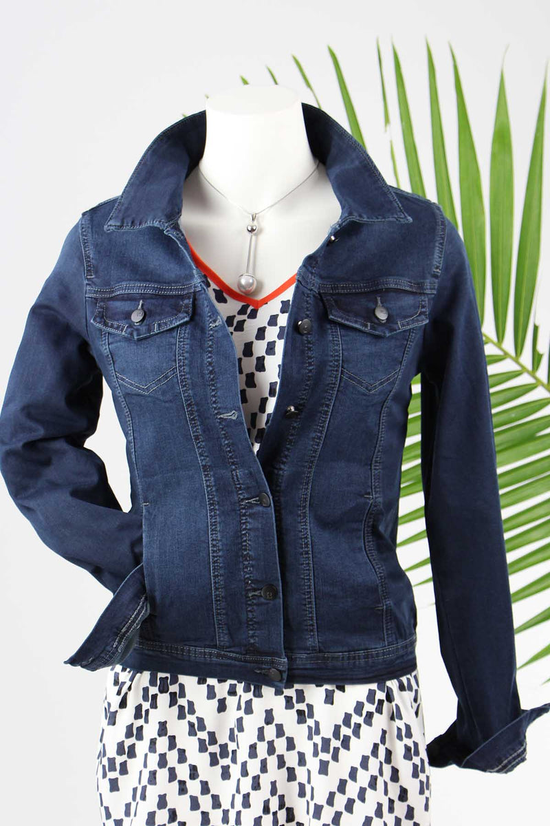 Corfu Indigo Denim Jacket-WO4B7639
