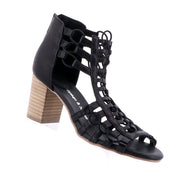 Sonya Block Heels - Black
