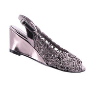 Emma Kate - Excel Wedge - Pewter - Pizazz Boutique