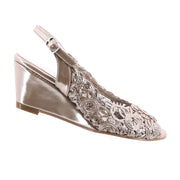 Emma Kate - Excel Wedge - Soft Gold  - Pizazz Boutique