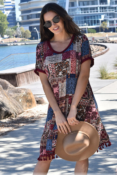 Fringe Dress - Outback