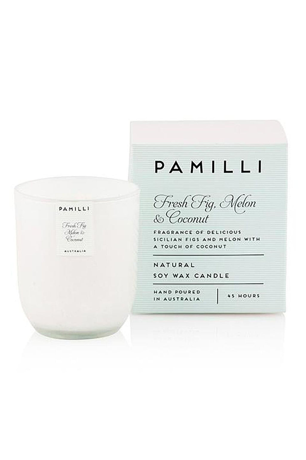 Fresh Fig, Melon & Coconut - Natural Soy Wax Candle
