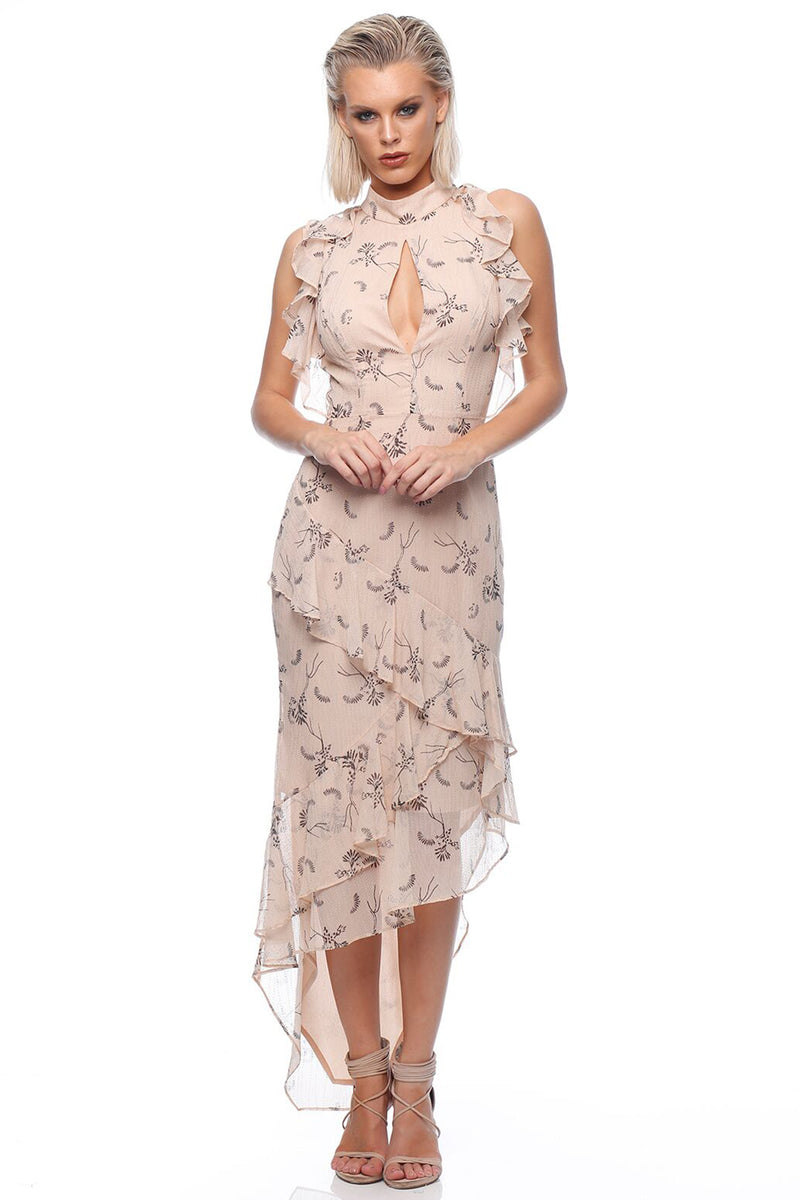 Love Story Dandelion Dress (Nude)