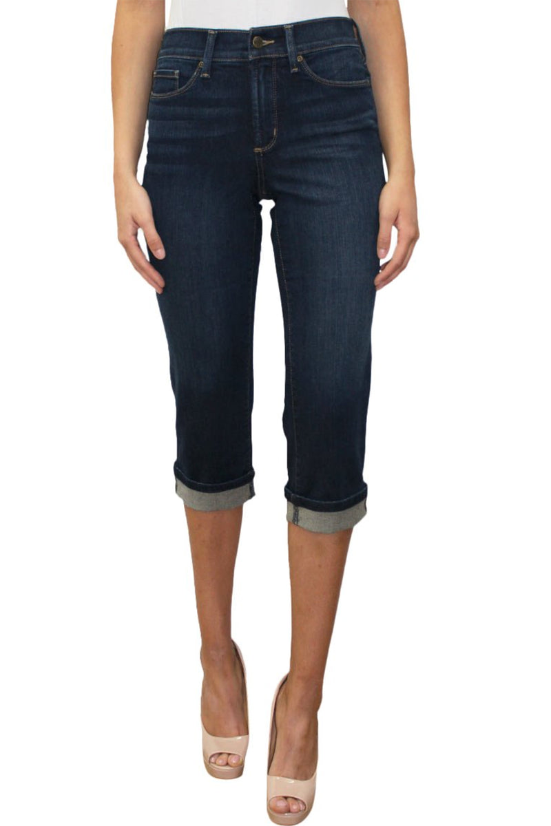 Marilyn Crop Cuff Denim Jeans