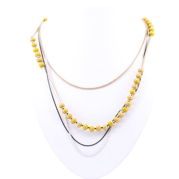 Honey Tiered Necklace