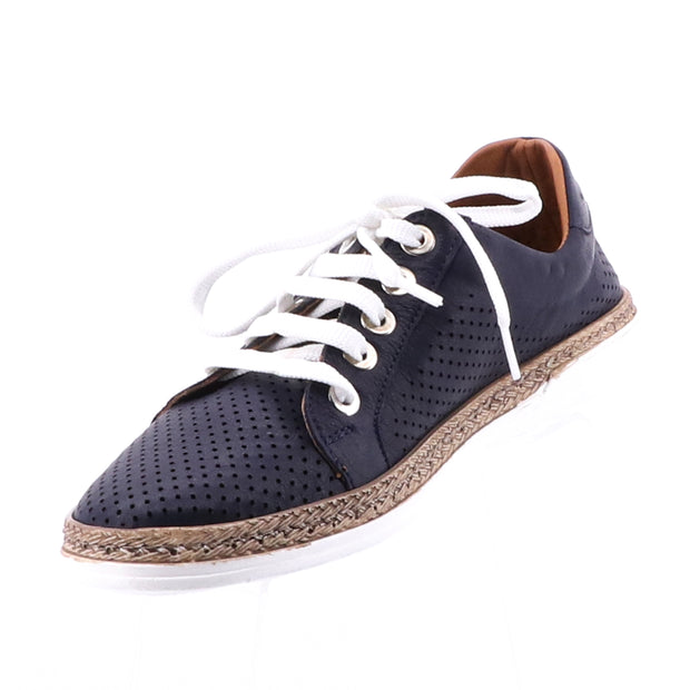 Tinker Leather Sneakers - Navy