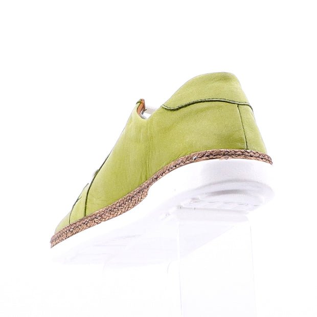 Tannery Leather Sneakers - Kiwi