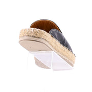 Tardy Leather Espadrille - Black