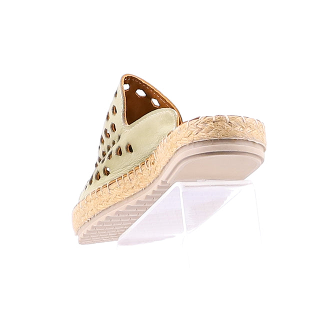 Tasty Leather Espadrille - Khaki