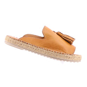 Tardy Leather Espadrille - Tan